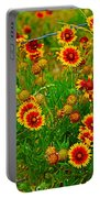Wildflowers On The Barb Portable Battery Charger