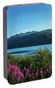 Wildflowers On The Edge Portable Battery Charger