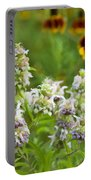 Wildflowers Three Portable Battery Charger