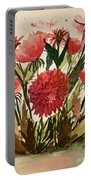Wildly Red Portable Battery Charger