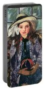 Wilhelmine With Ball 1915 Portable Battery Charger