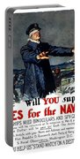 Will You Supply Eyes For The Navy Portable Battery Charger by War Is Hell Store