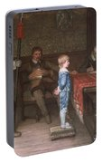 William Frederick Yeames - And When Did You Last See Your Father 1878 Portable Battery Charger