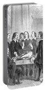 William Harvey Explaining Blood Portable Battery Charger