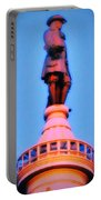 William Penn - City Hall In Philadelphia Portable Battery Charger