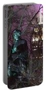 William Seward And Empire State Building 1 Portable Battery Charger