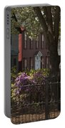 William Street In Bloom Portable Battery Charger