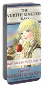 William Tell Cover Art Portable Battery Charger