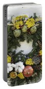 Williamsburg Wreath 09b Portable Battery Charger