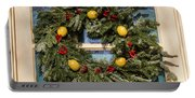 Williamsburg Wreath 37 Portable Battery Charger