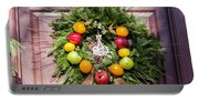 Williamsburg Wreath 53 Portable Battery Charger