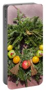 Williamsburg Wreath 54 Portable Battery Charger