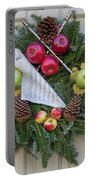 Williamsburg Wreath 87 Portable Battery Charger