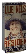 Willie For President Portable Battery Charger