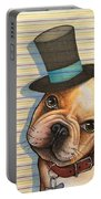 Willy In A Top Hat Portable Battery Charger