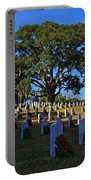 Wilmington National Cemetery Christmas Portable Battery Charger