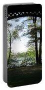 Wilson Pond Framed Portable Battery Charger