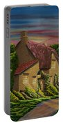 Wiltshire At Sunset Portable Battery Charger