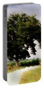Wind Motif Old Dam Road Portable Battery Charger