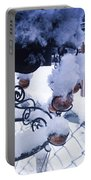 Wind Snow Chimes Portable Battery Charger by Robert Knight