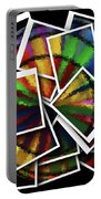 Wind Spinner Collage Portable Battery Charger