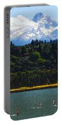 Wind Surfing Mt. Hood Portable Battery Charger