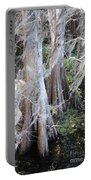 Wind Through The Cypress Trees Portable Battery Charger