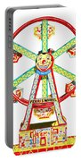 Wind-up Ferris Wheel Portable Battery Charger
