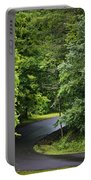 Winding Road Bluestone State Park West Virginia Portable Battery Charger