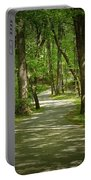 Winding Trails At Bur Mil Park  Portable Battery Charger