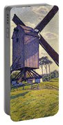 Windmill In Flanders Portable Battery Charger