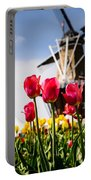 Windmill Island Tulip Gardens Portable Battery Charger
