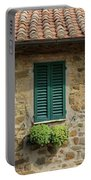 Window #3 - Cinque Terre Italy Portable Battery Charger