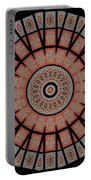 Window Mosaic - Mandala - Transparent Portable Battery Charger