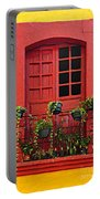 Window On Mexican House Portable Battery Charger