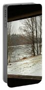 Window To Winter Portable Battery Charger