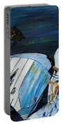 Windsurfing And Sea Turtle Portable Battery Charger