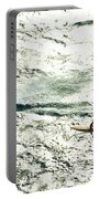 Windsurfing Silver Waters Portable Battery Charger