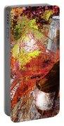 Wine Art Version 3 Portable Battery Charger