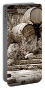Wine Country Sepia Vignette Portable Battery Charger
