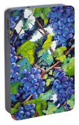 Wine On The Vine Portable Battery Charger