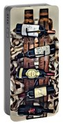Wine Rack Portable Battery Charger