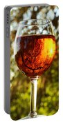 Wine Reflections Square Portable Battery Charger