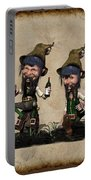 Wine Time For The Leprechauns  Portable Battery Charger
