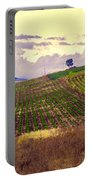 Wine Vineyard In Sicily Portable Battery Charger