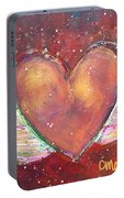 Winged Heart Number 2 Portable Battery Charger