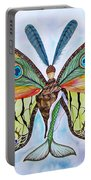 Winged Metamorphosis Portable Battery Charger