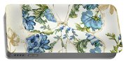 Winged Tapestry Iv Portable Battery Charger
