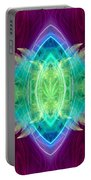 Wings Of Consciousness Portable Battery Charger