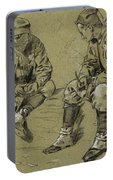 Winslow Homer 1836 - 1910 Study For The Brierwood Pipe Portable Battery Charger